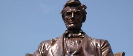 Lincoln at Hodgenville, Kentucky