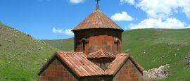 Medieval church, Armenia