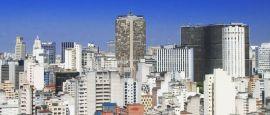 Sao Paulo skyline , Brazil
