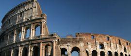 The coliseum, Rome