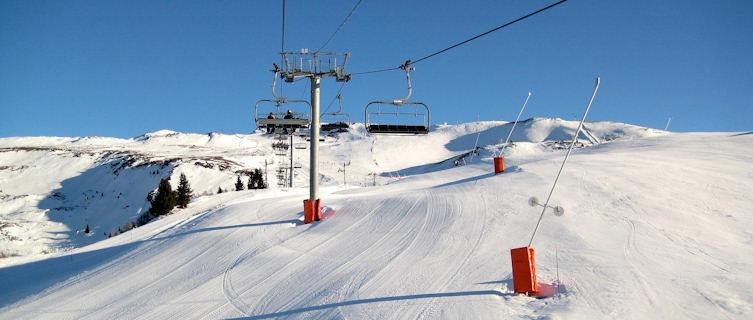 Ski lifts, La Rosière