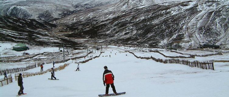 Ski slopes, Glenshee