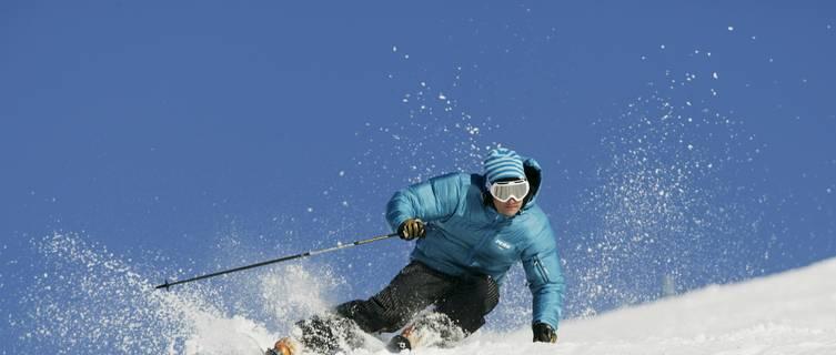 Skier on Shell, Vemdalen
