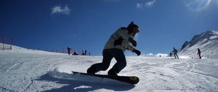 Snowboarder, Livigno