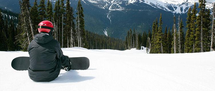 Snowboarder, Whistler