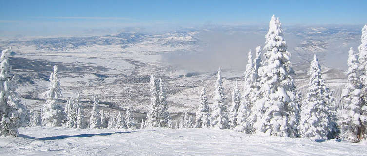 Winter views of Steamboat