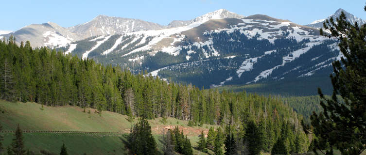 The view from Vail Pass