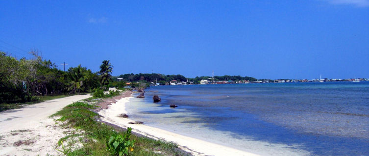 Utila beaches, Honduras