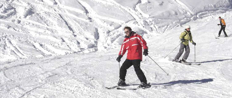 Val d'Isère is popular with British skiers