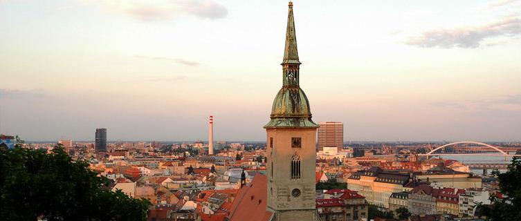 View on Bratislava, Slovakia