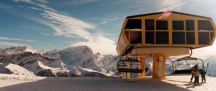 Villars ski lift