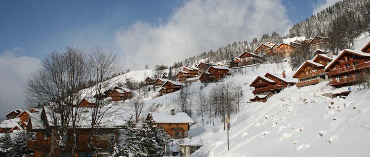 Winter village, Méribel