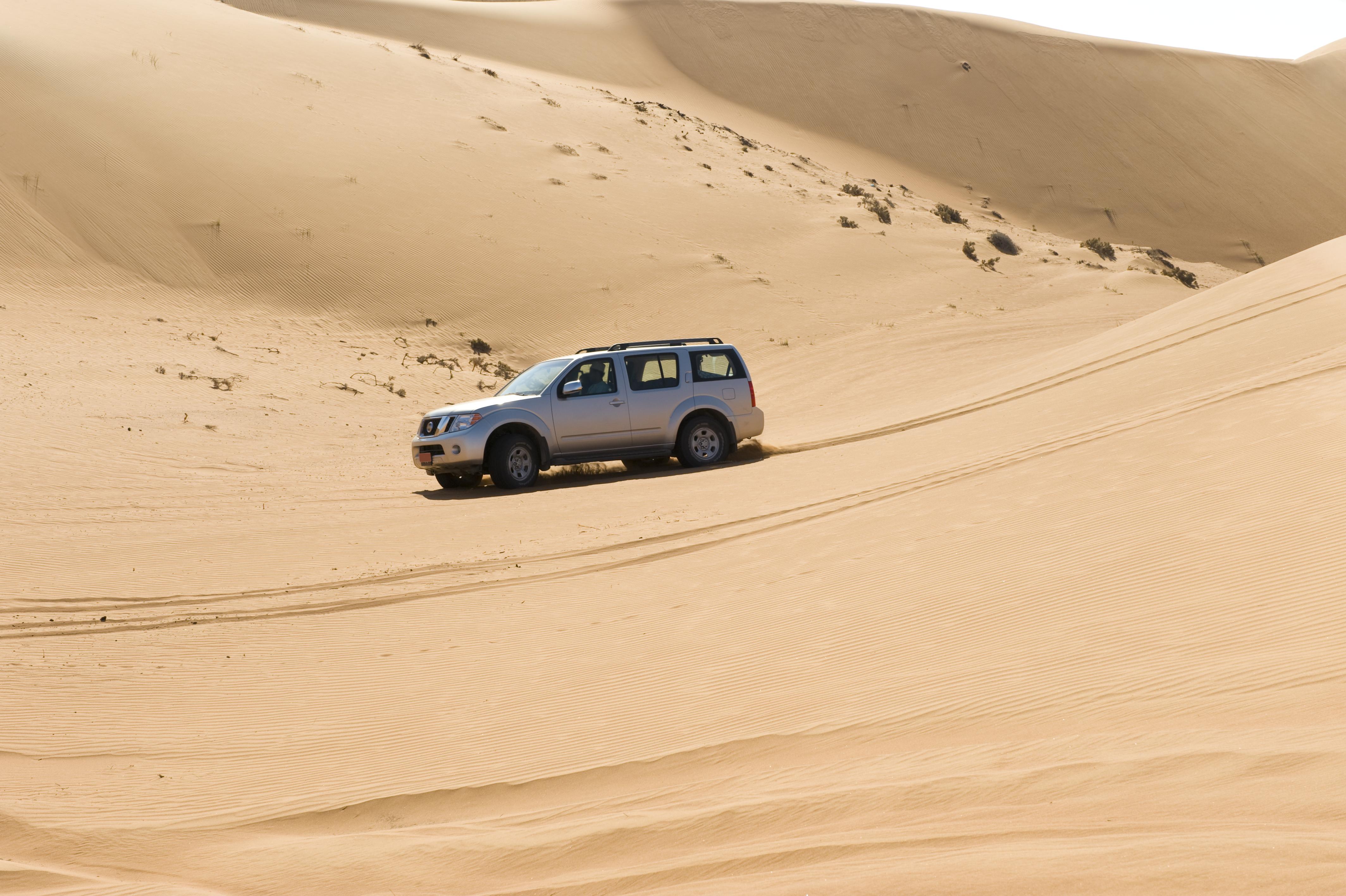 Enjoy a jeep safari in Oman's Wahiba desert