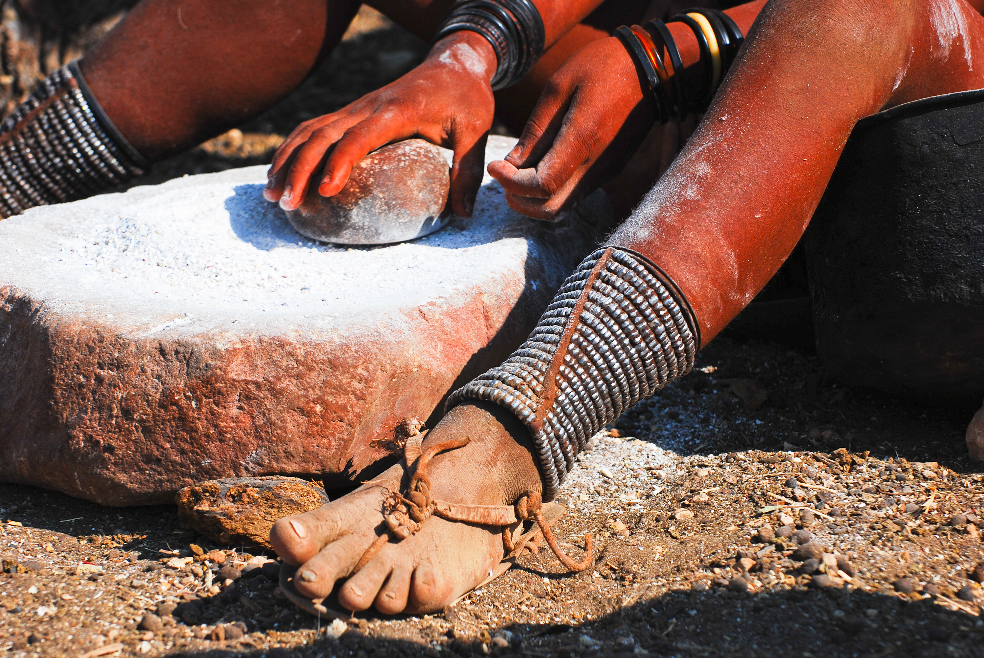 Namibia's Himba tribes retain traditional customs