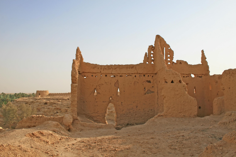 Ancient ruins in Saudi Arabia