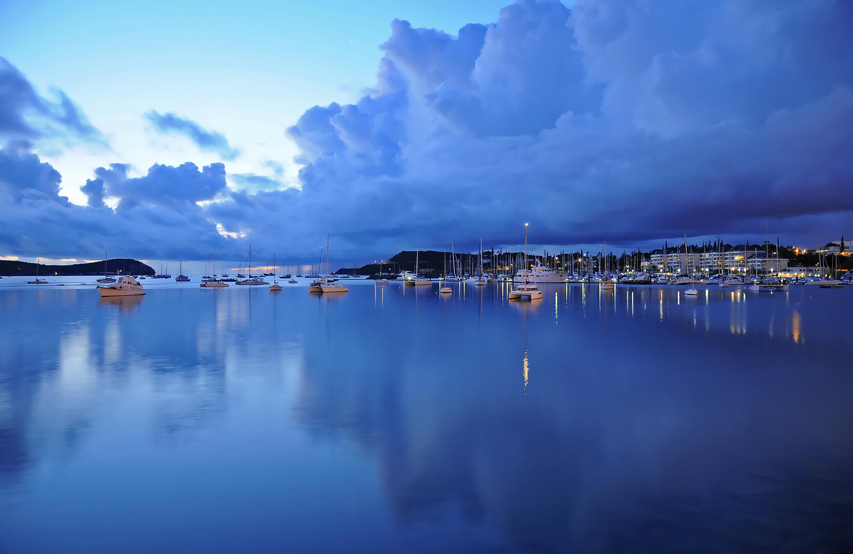 Harbour in Noumea, New Caledonia