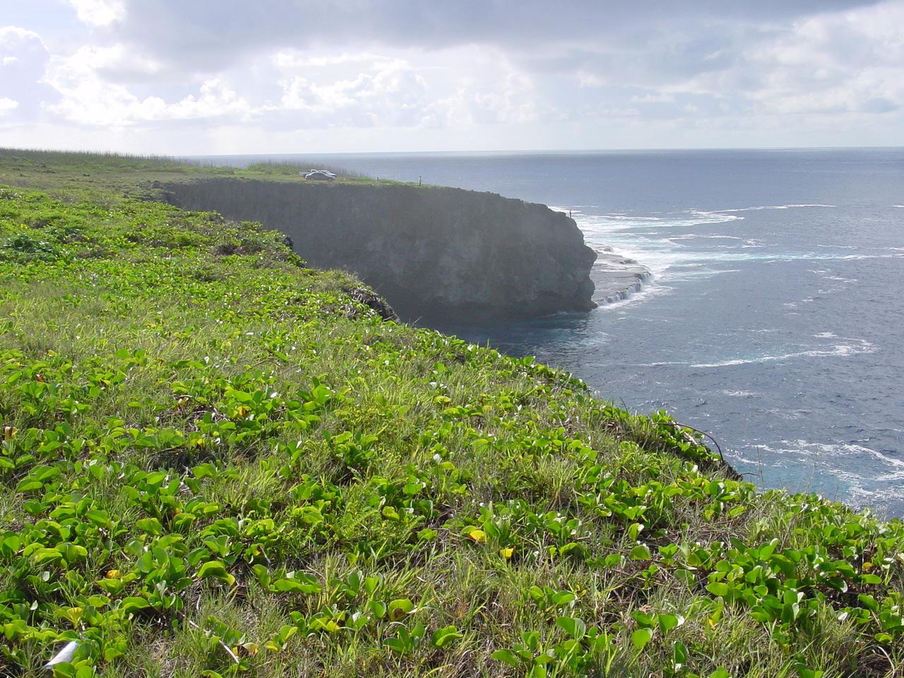Cliff views, Saipan, Northern Mariana Islands