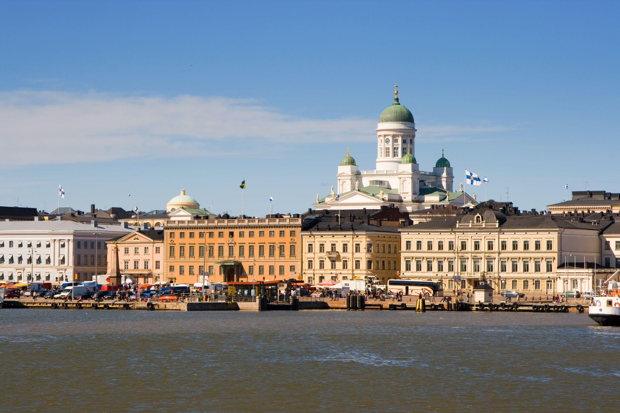 Helsinki harbour, Finland