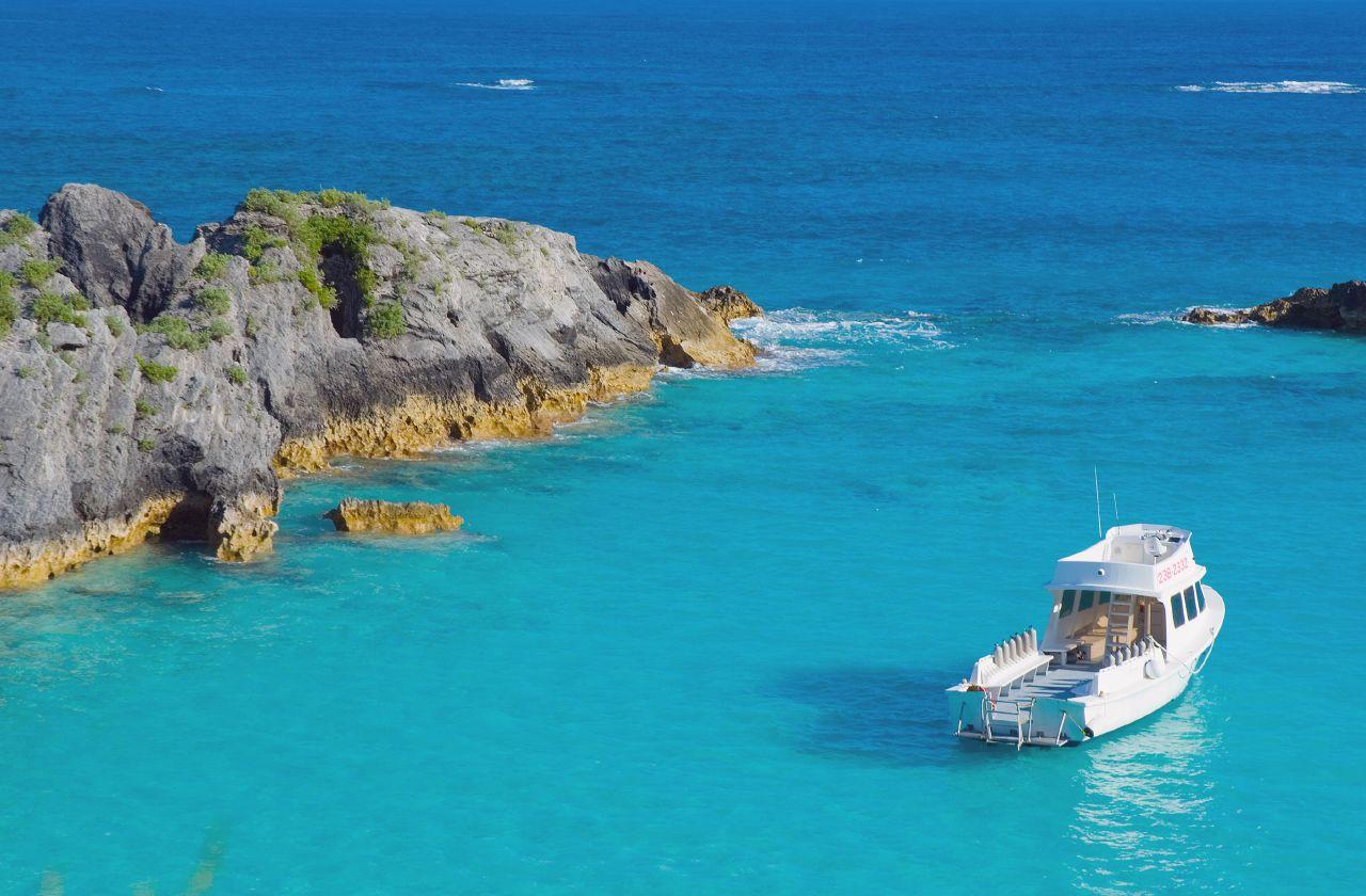 Bermuda's beautiful coastline