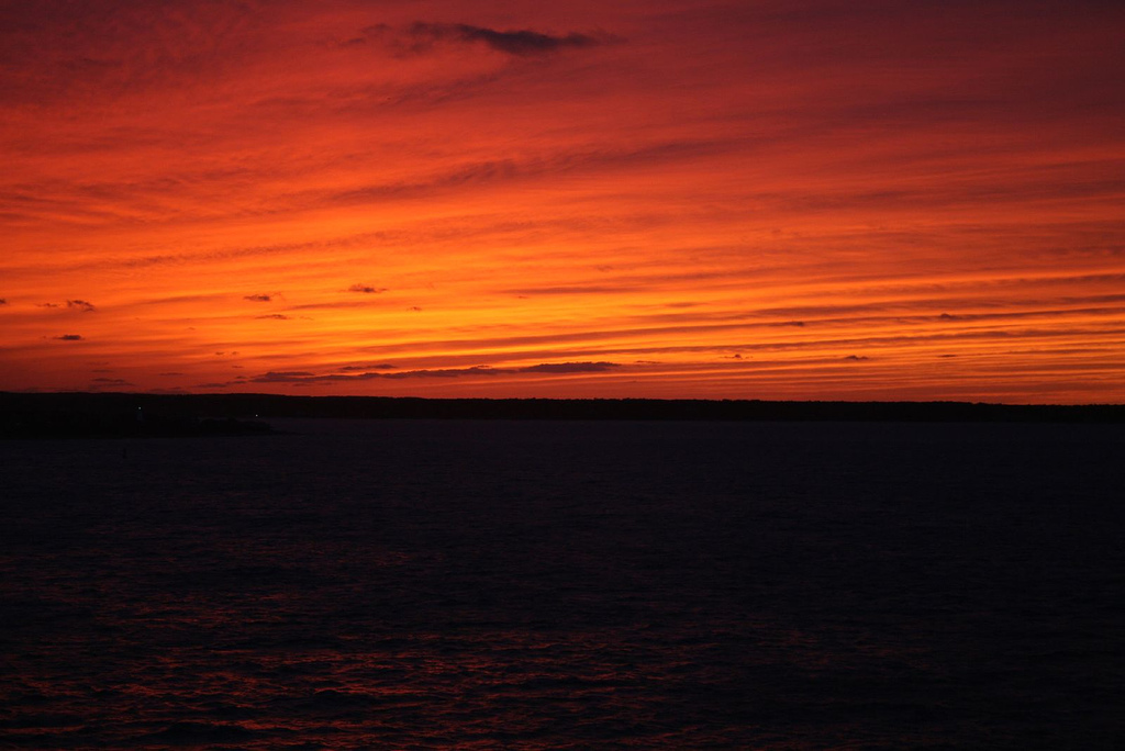Sunset from Martha's Vineyard