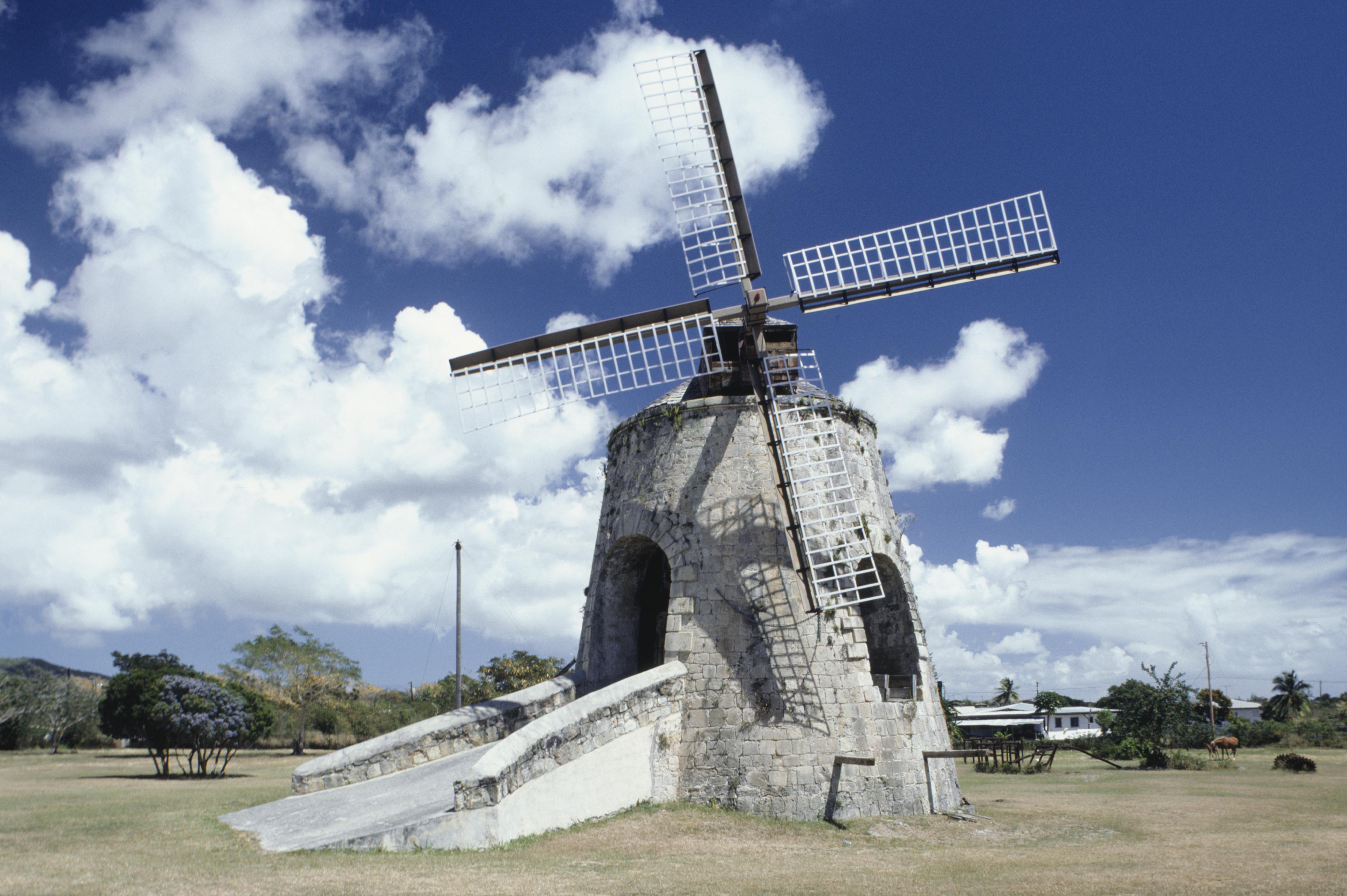 Sugar cane ruin, Whim Greathouse, US Virgin Islands