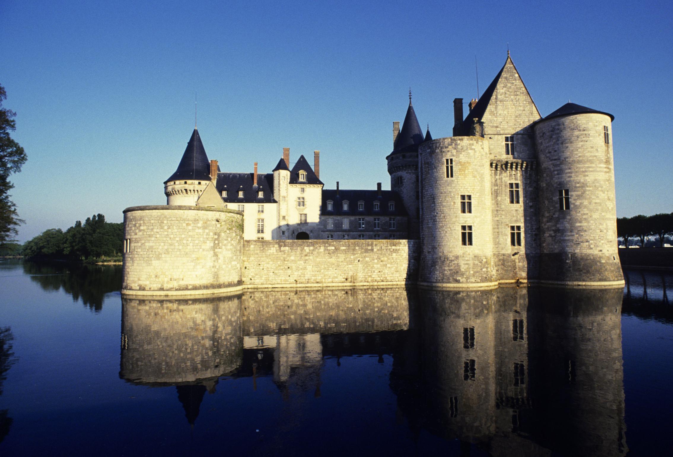Chateau Sully-sur-Loire, Loire valley, France