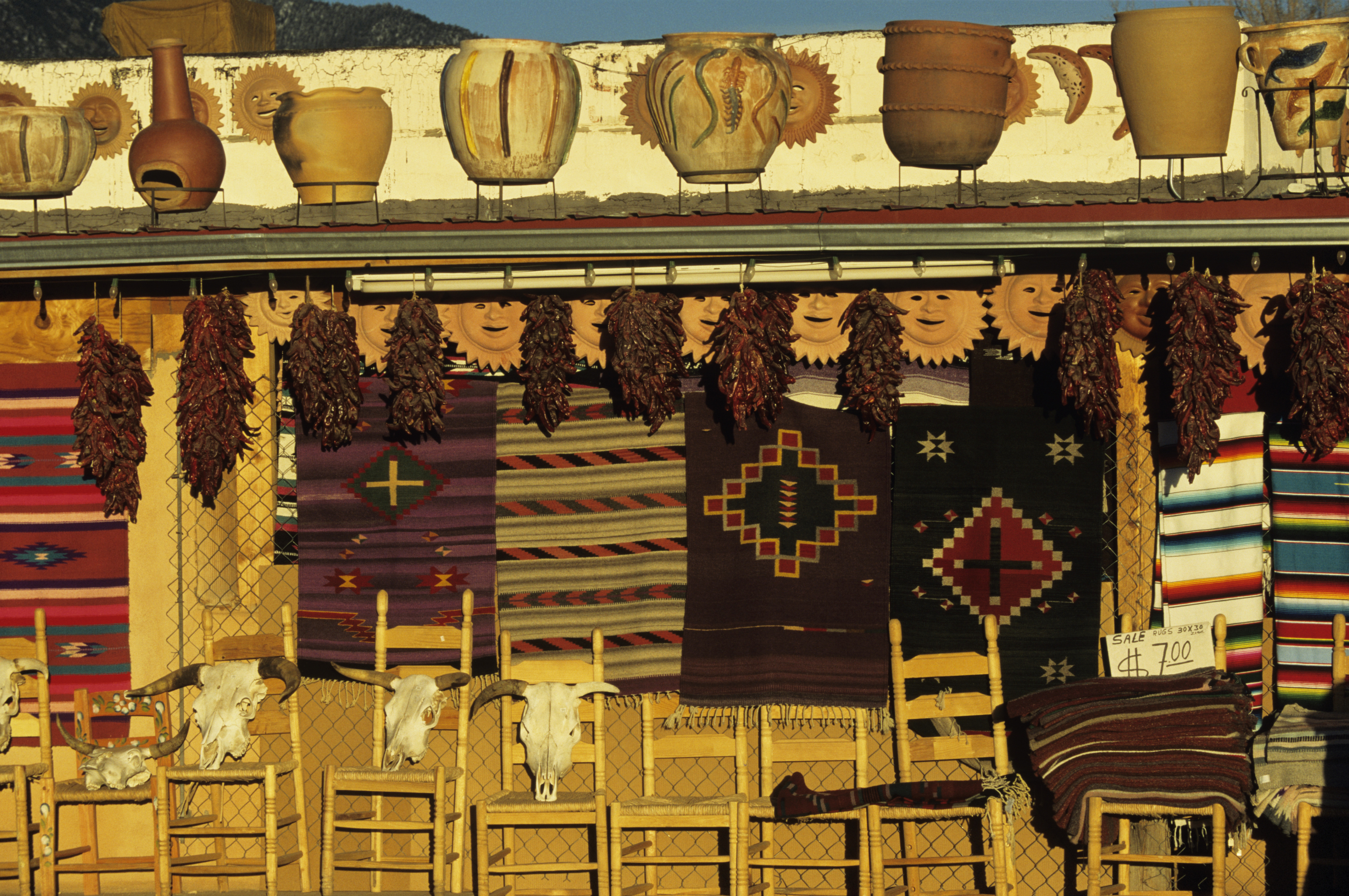 A craft stall, Taos, New Mexico