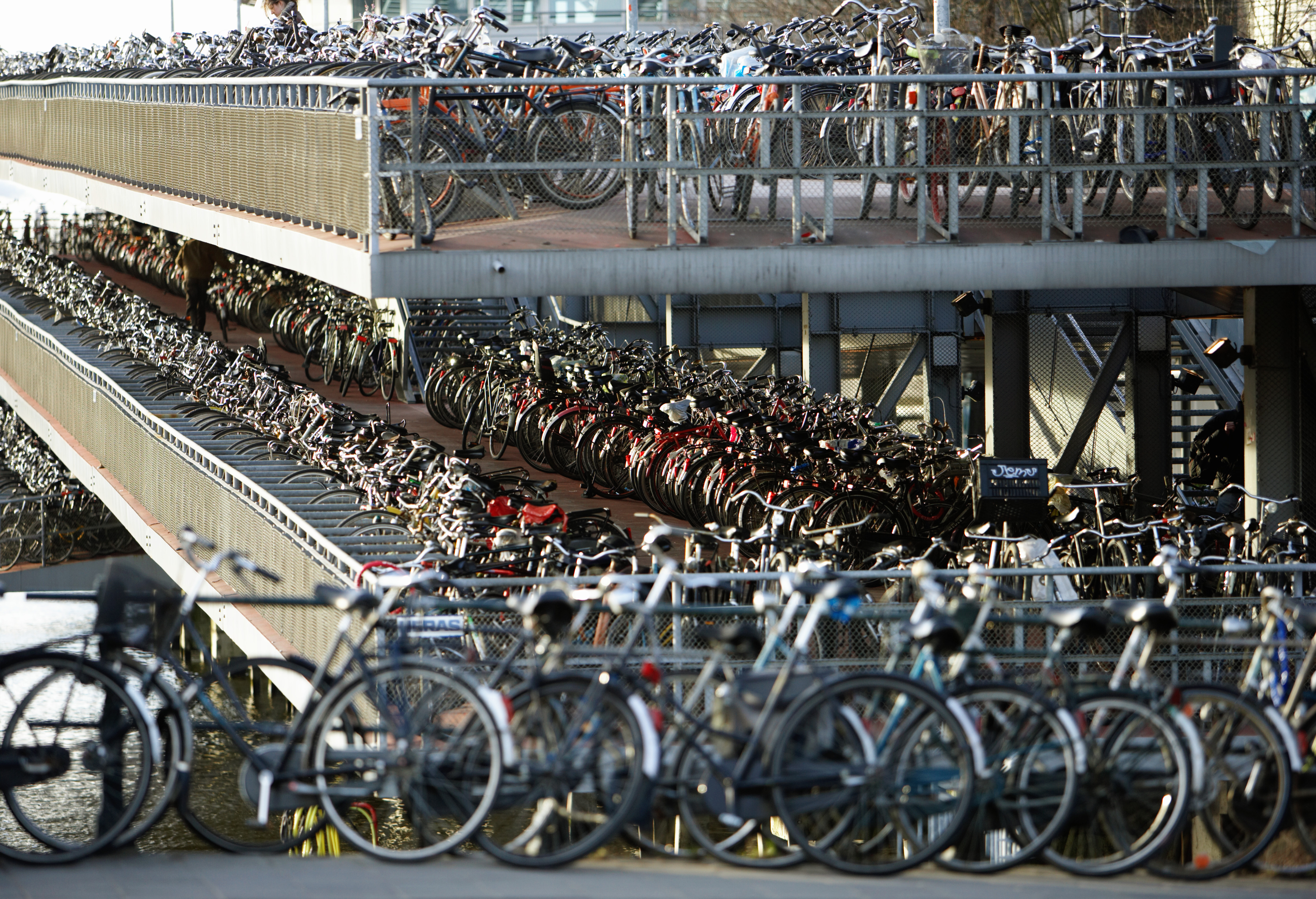 Netherlands is cycle friendly