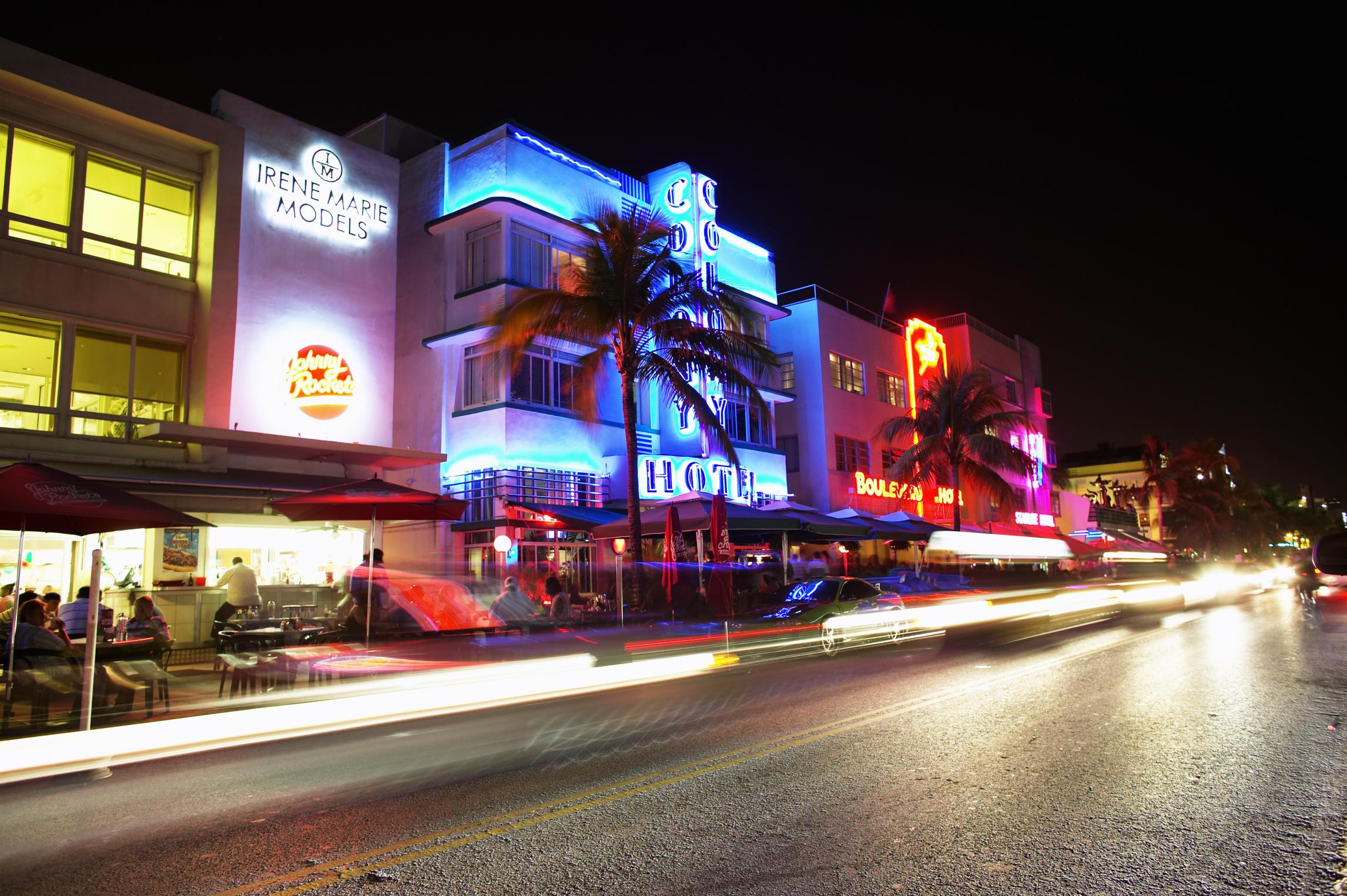 Miami, Florida streetscape