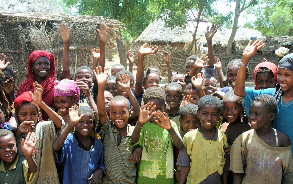 Kids in Somalia