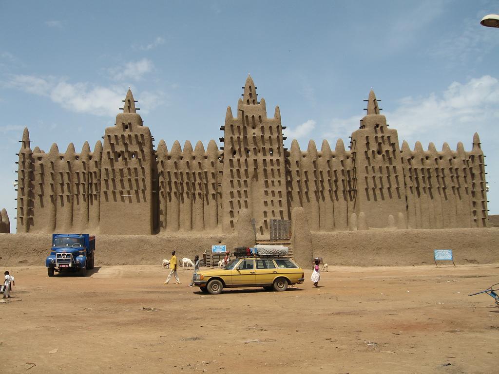 Grand Mosquee in Djenne, Mali