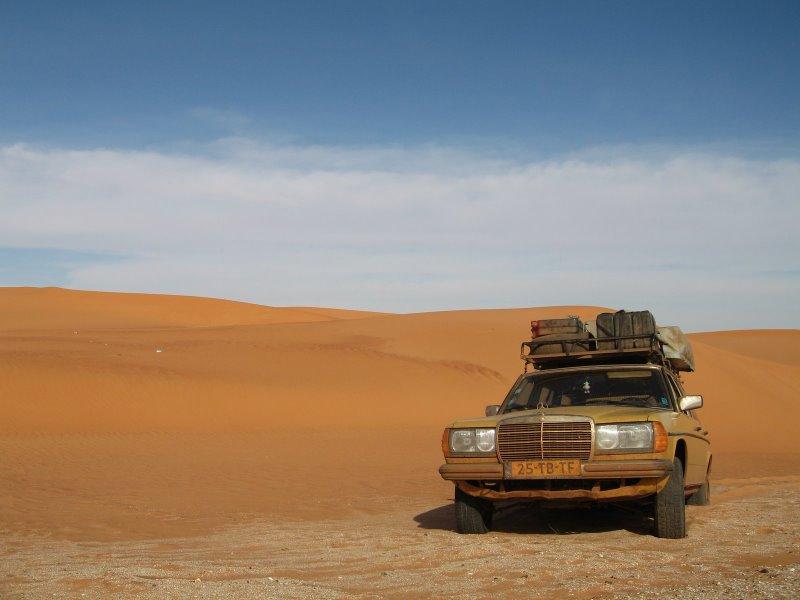 Desert adventures in the Sahara, Mauritiania