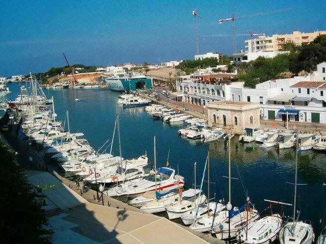 Ciutadella harbour, Menorca