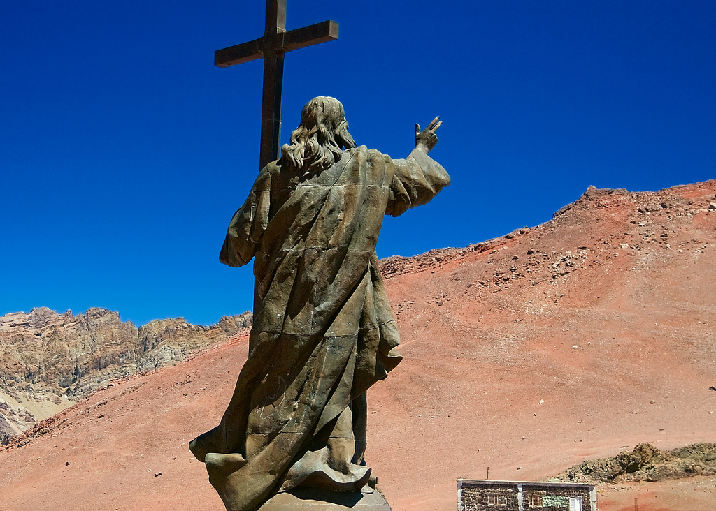 Christ the Redeemer, Andes, Argentina