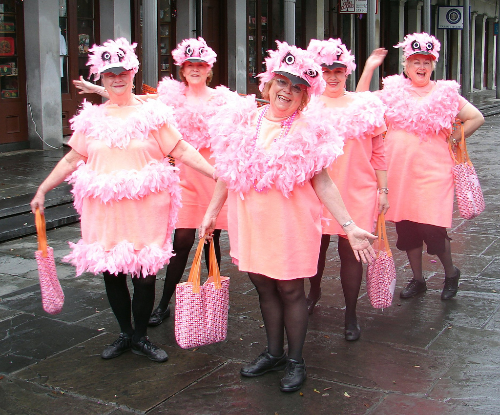 Dress up for Mardi Gras in New Orleans, Louisiana