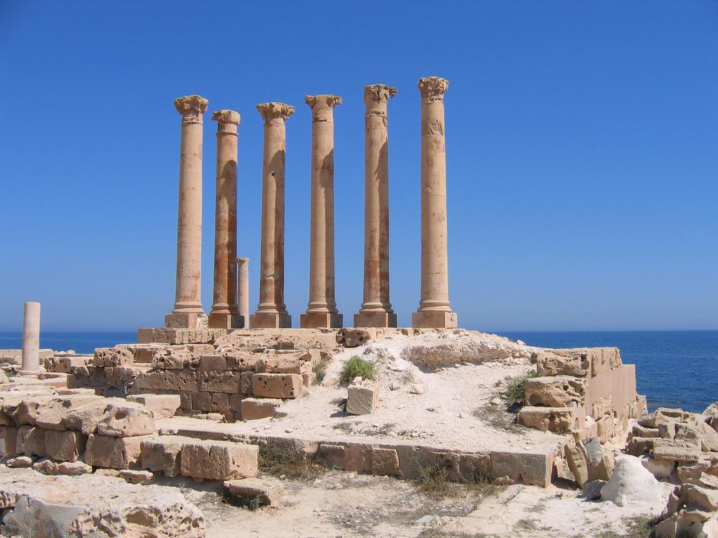 Roman ruins at Sabratha, Libya