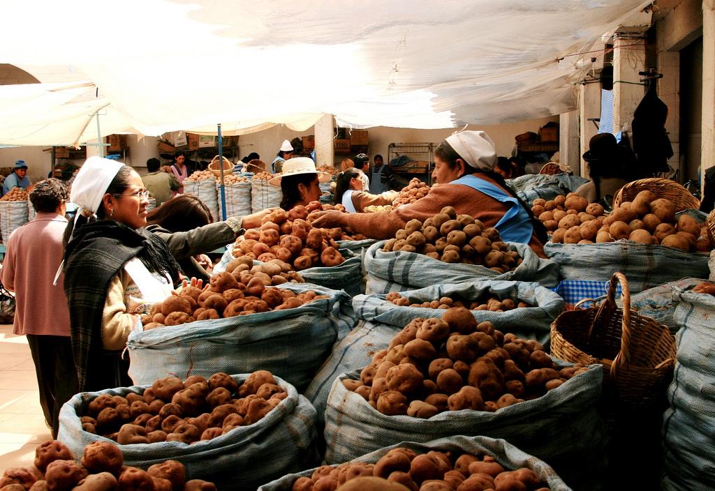 Sucre market, Bolivia