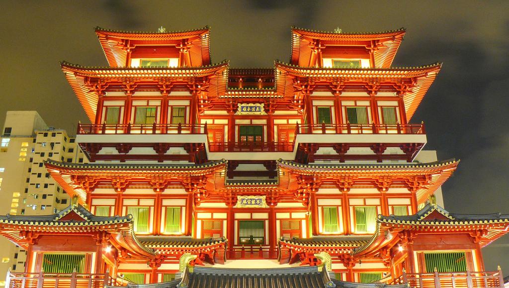Temple, Chinatown, Singapore