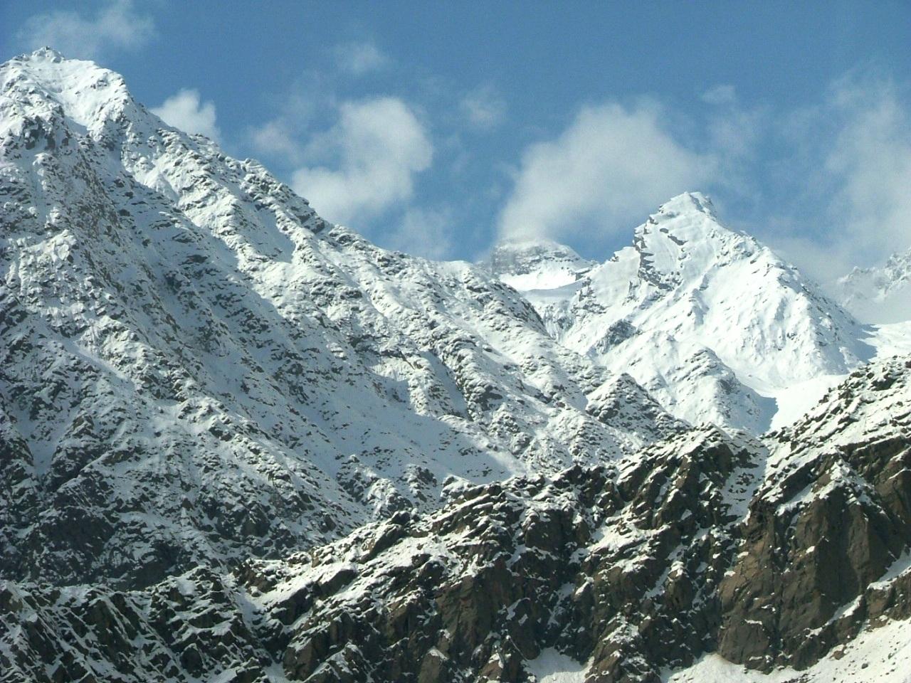 Tajik Mountains above the Pamir Highway