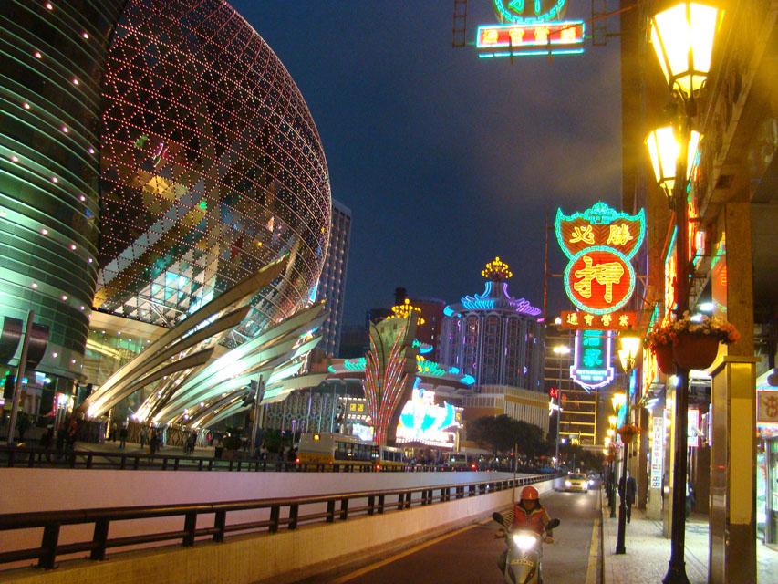Macau's casinos are a big draw