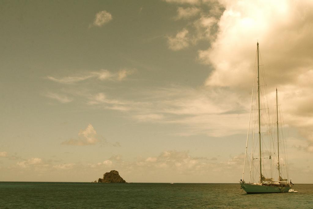 Sailing is popular on St Maarten