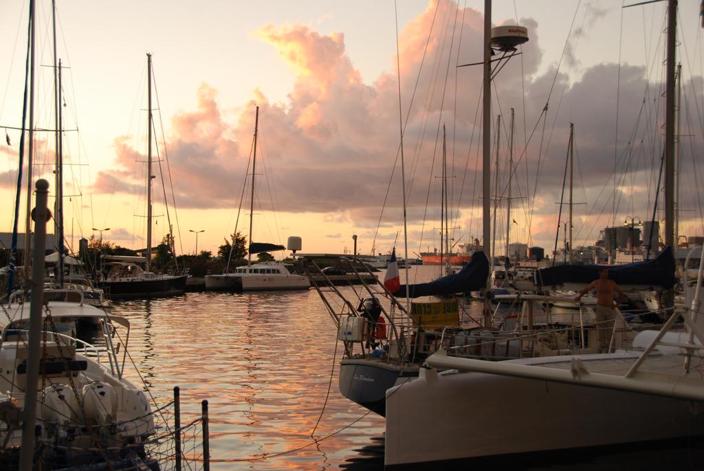 Waterfront at Port Louis. Mauritius