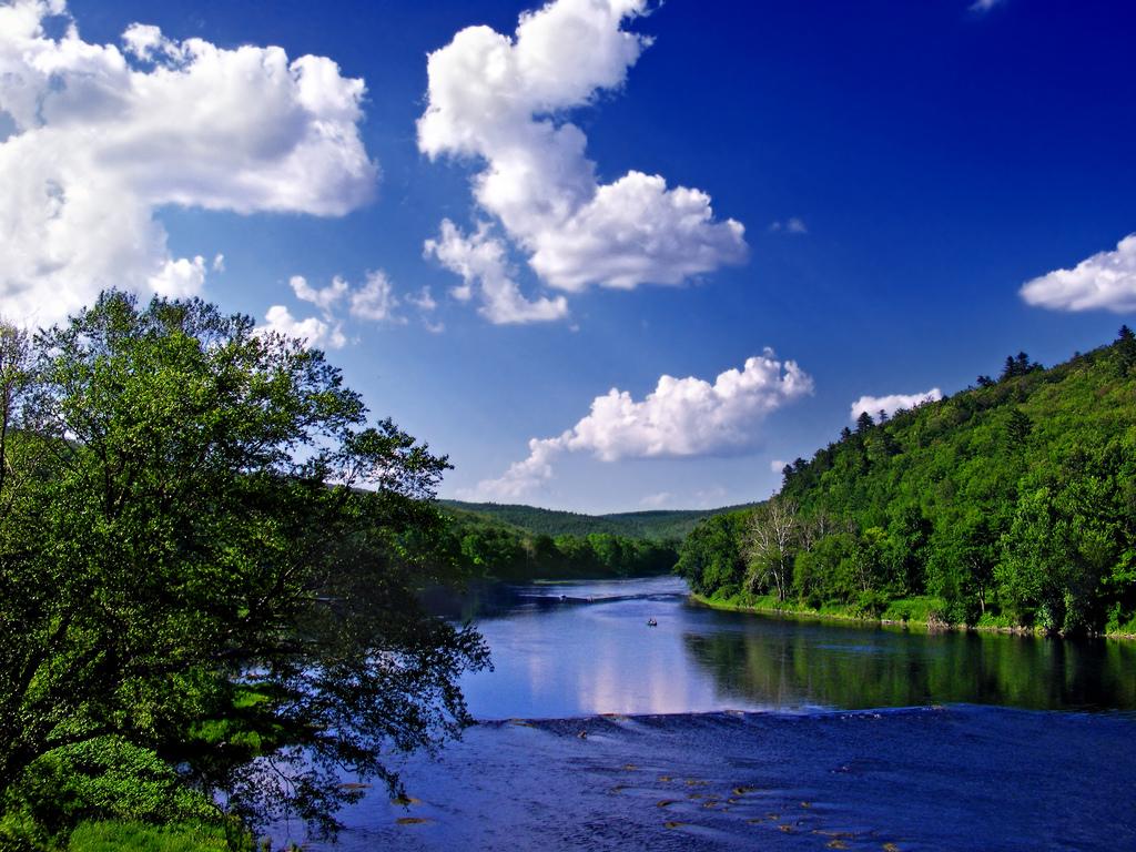 River view in Delaware