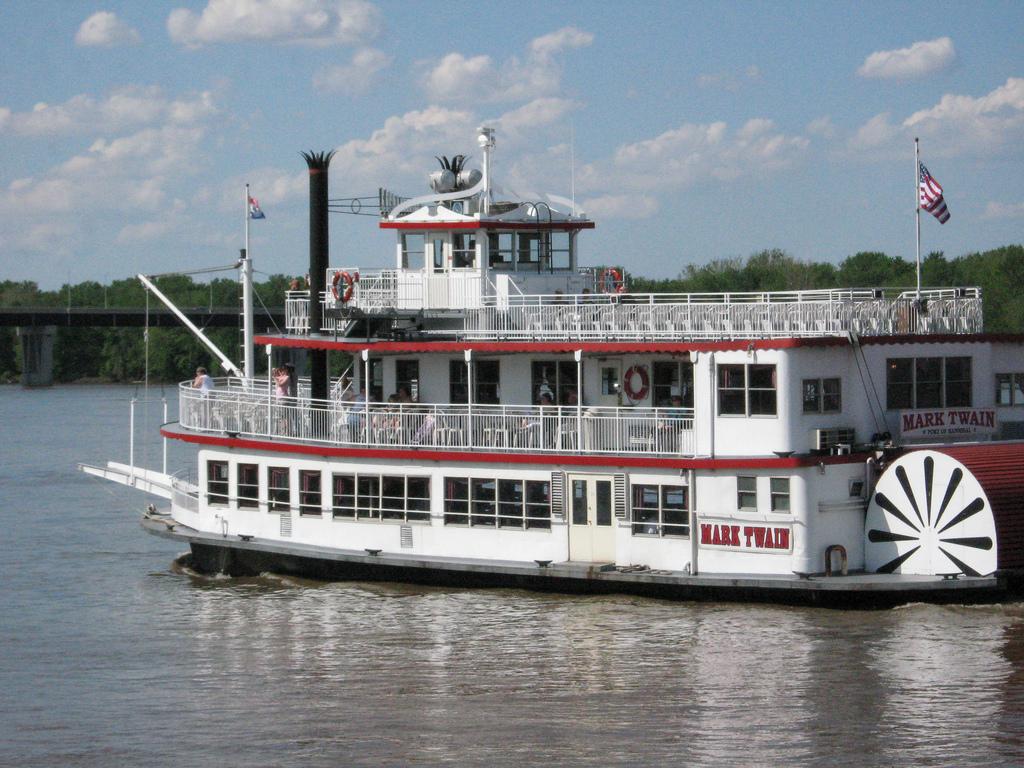 Steam boats in Missouri