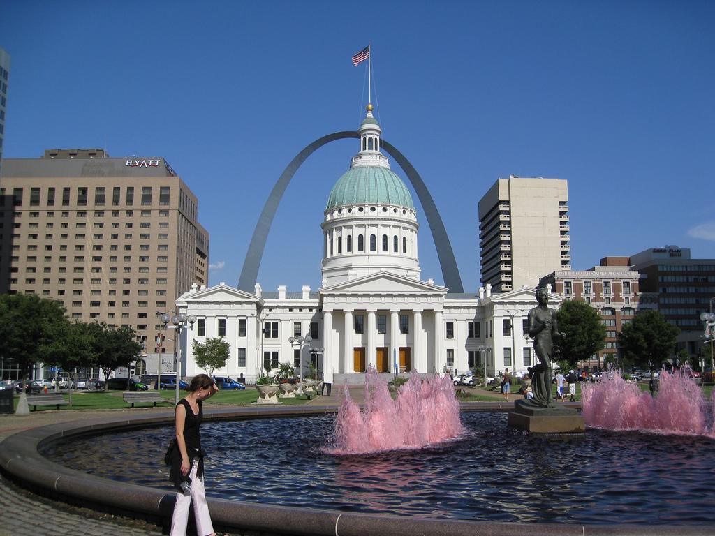 Downtown St Louis, Missouri