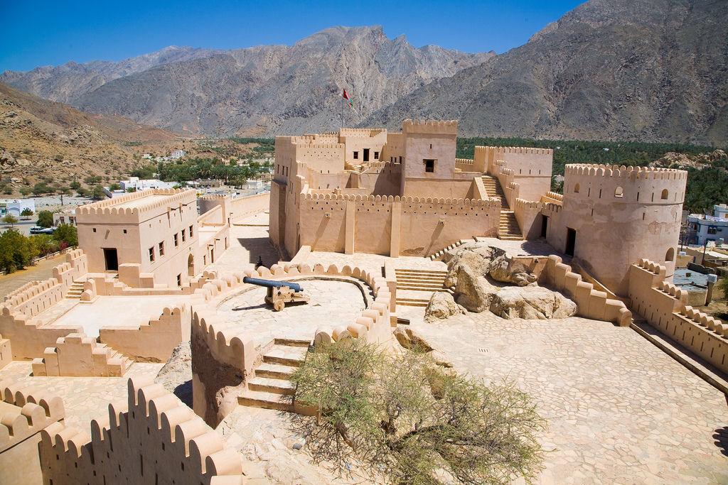 Nakhal Fort in Oman