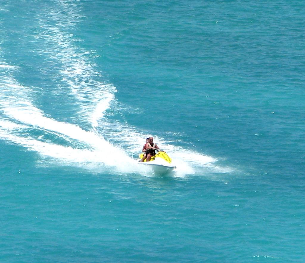 Enjoy thrilling watersports action in St Maarten