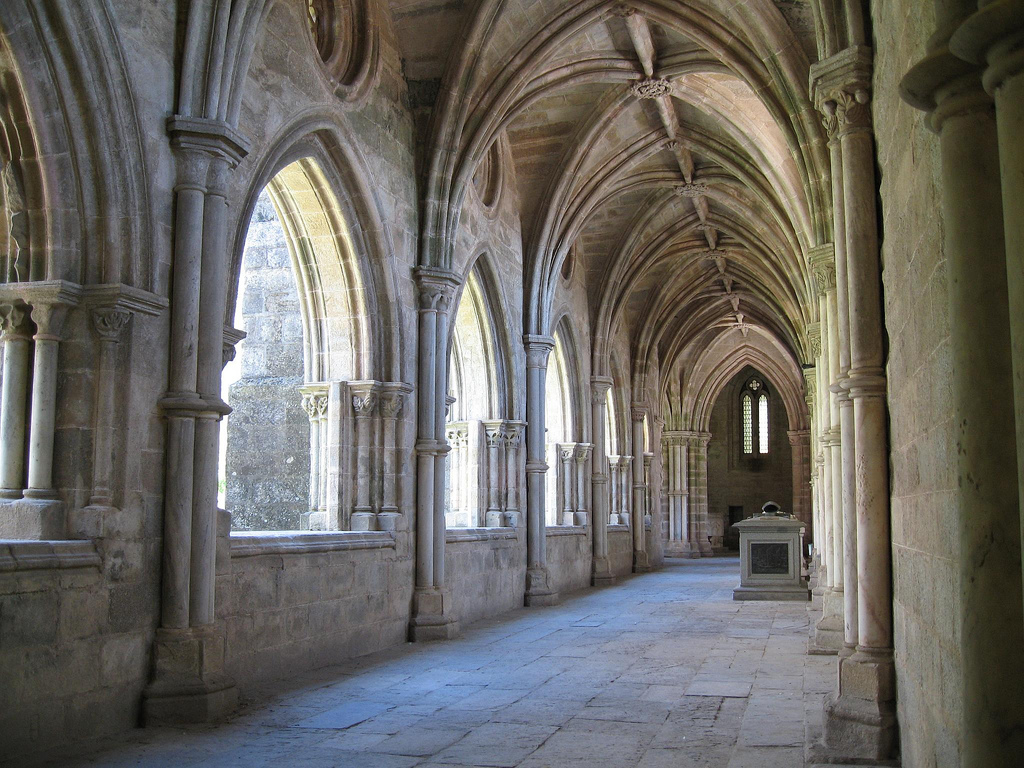 A cathedral in Evora, Portugal