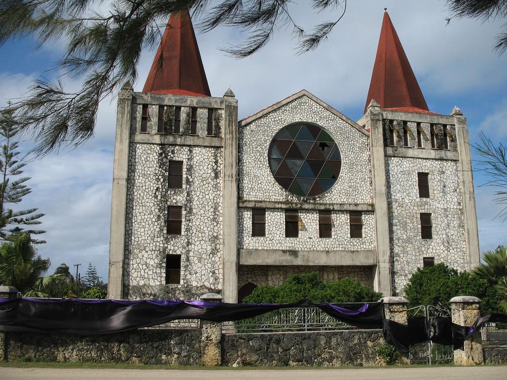 Church in capital city Nuku'Alofa