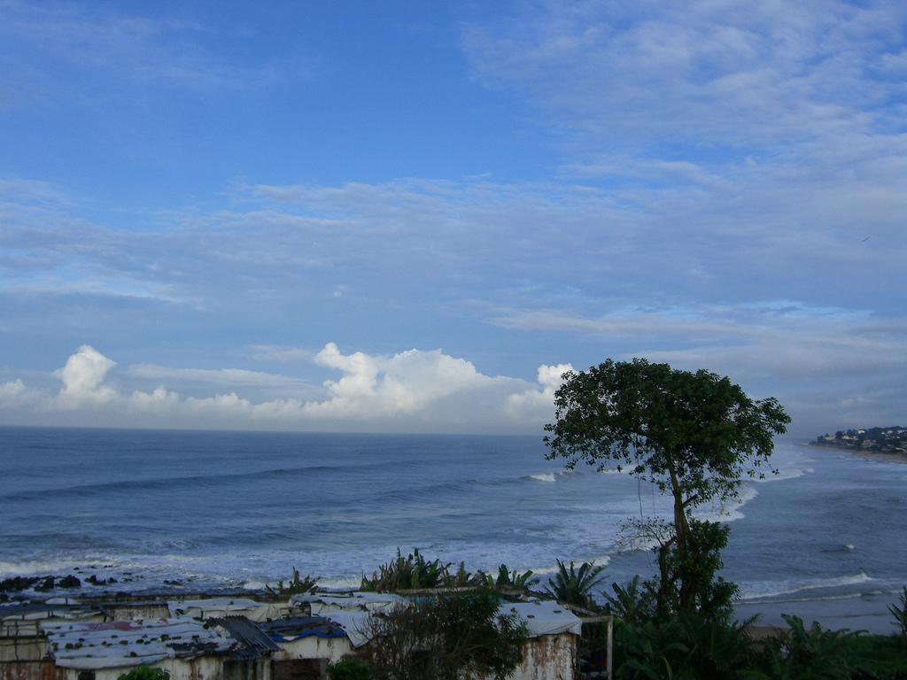 Liberia's coastline